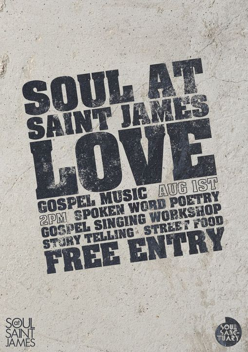 Soul Sanctuary Gospel Choir have teamed up with St James's Church Piccadilly to ...