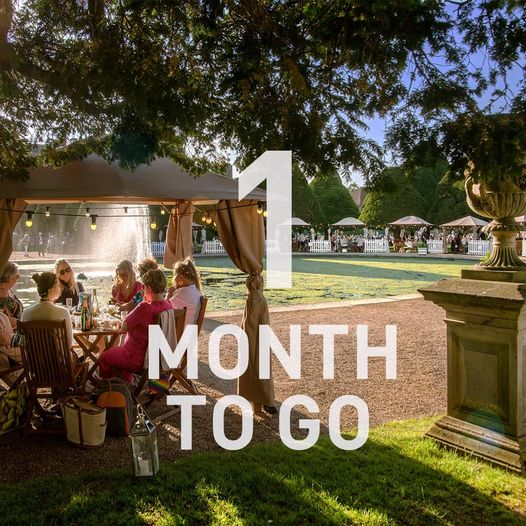 1 month to go!!  The sunshine has returned & the countdown is on - not long ...