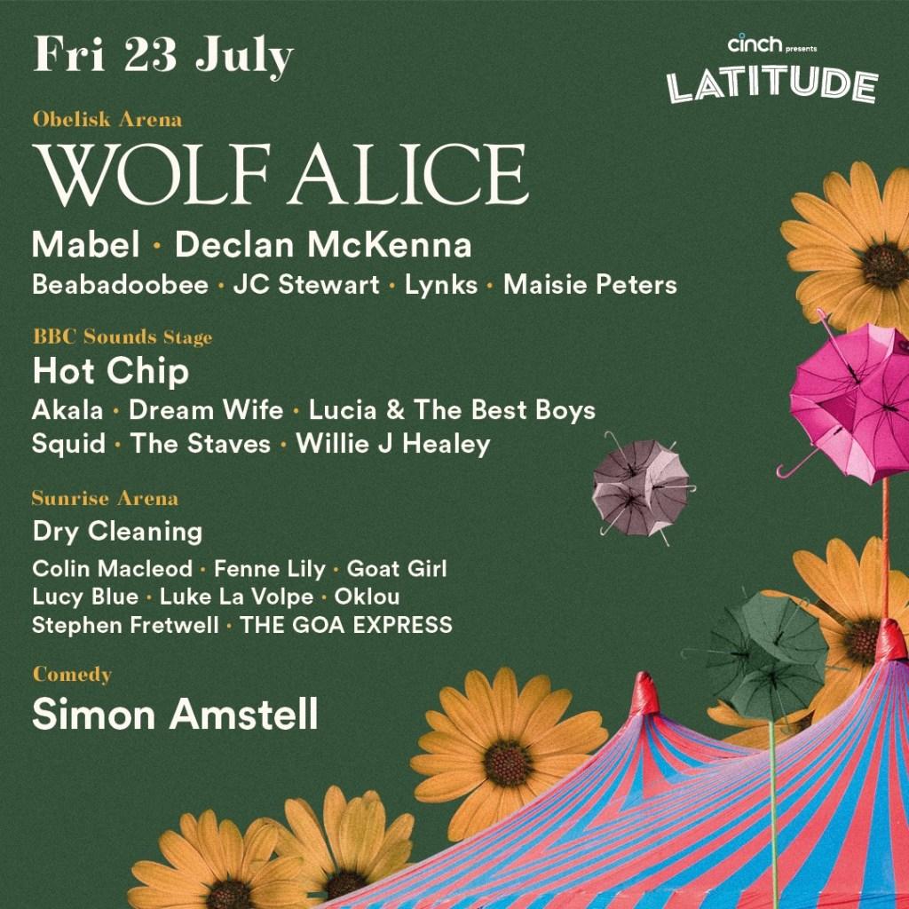 BBC Music Introducing return to cinch presents Latitude, bringing 20 of the brig...