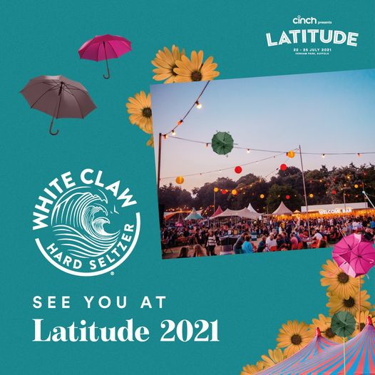 White Claw UK will be there to keep you refreshed at cinch presents Latitude 202...