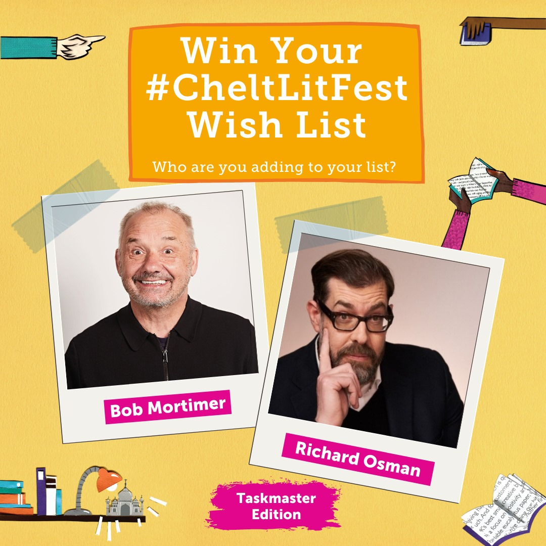 Don't forget that you can win your #CheltLitFest wish list (up to the value of £...