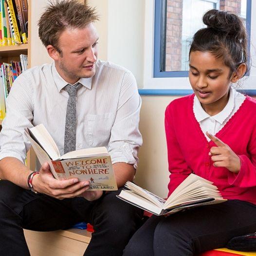 We believe when teachers read, pupils read. Cheltenham Festivals' Reading Teache...