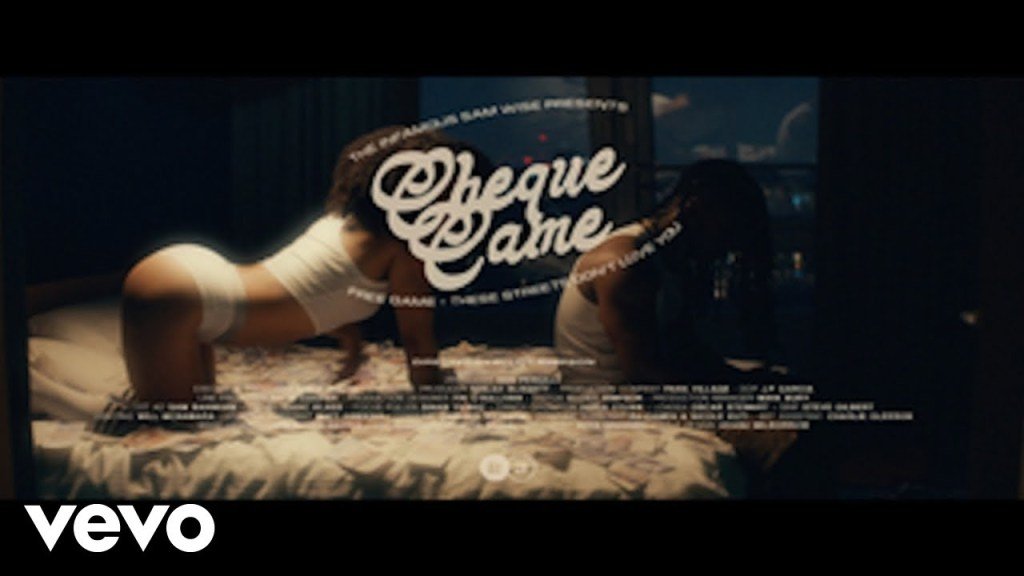 Sam Wise - Cheque Came (Official Video) ft. Jesse James Solomon