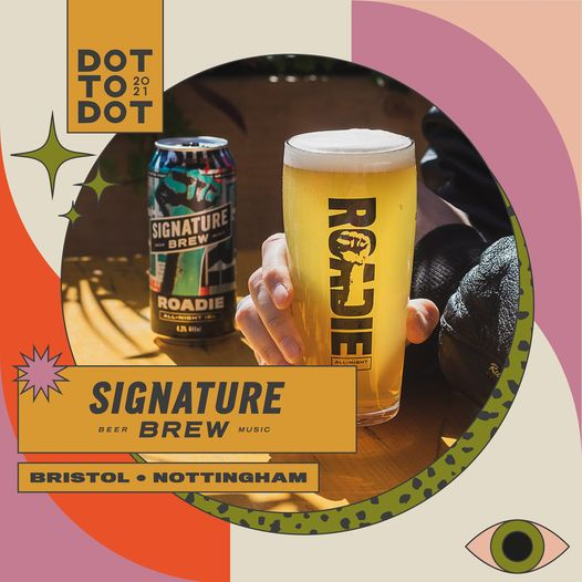 We're joining forces with Signature Brew, who'll be bringing their delicious bee...