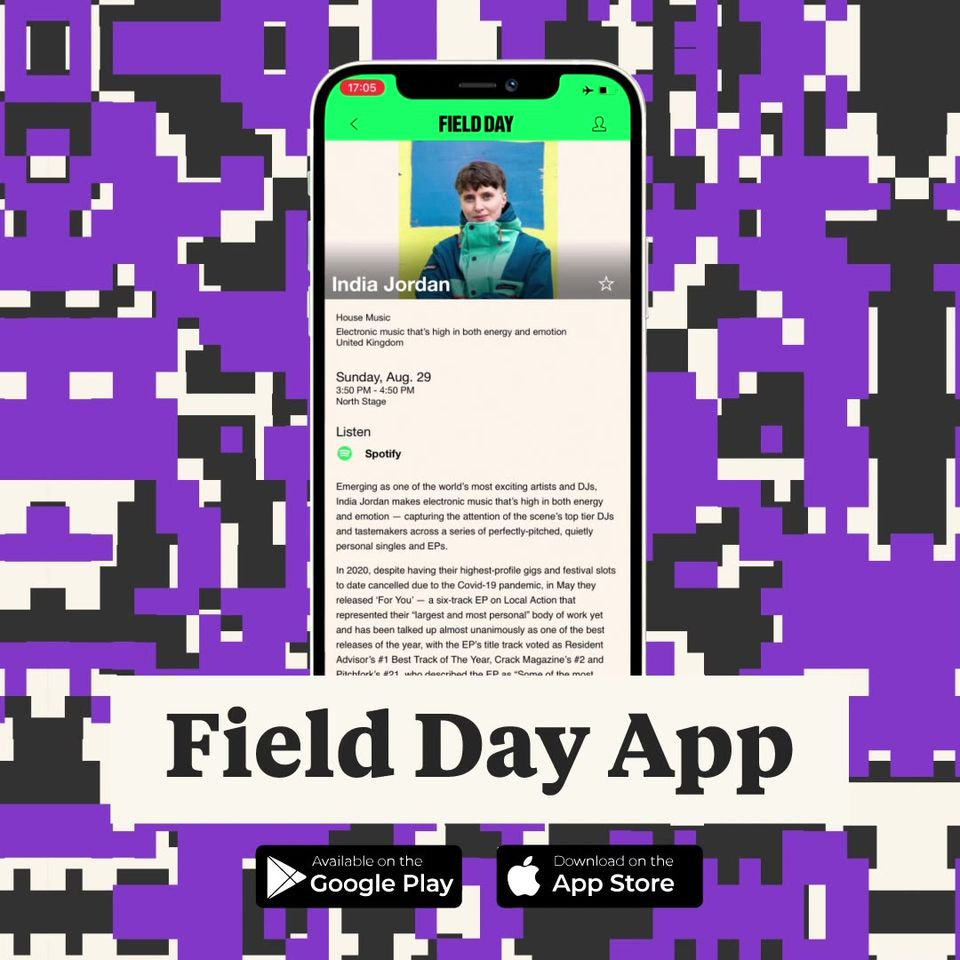 The Field Day 2021 app has landed! Set times...