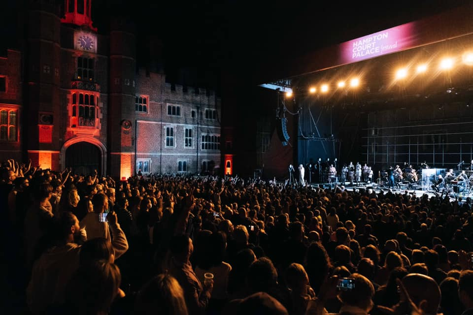6 world class acts, 3 weeks, 1 historic Palace A Festival to remember. Thank you...
