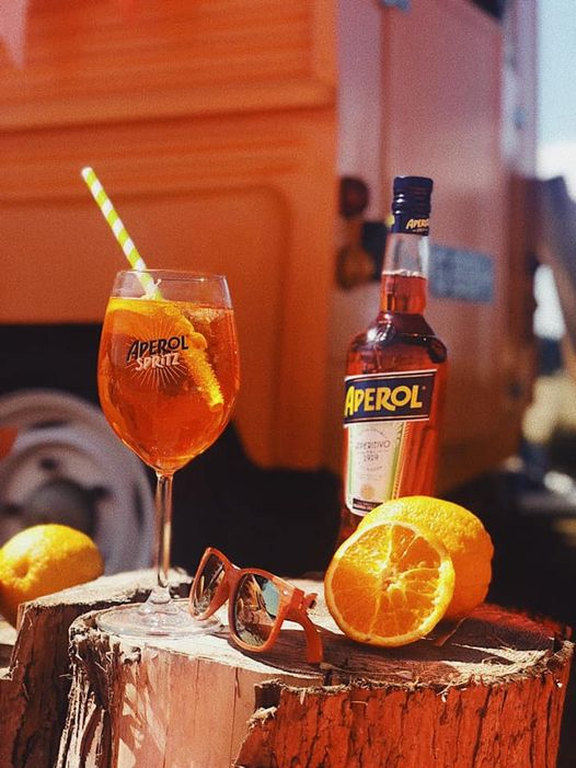 Enjoy the summer's evening at the Palace with a refreshing Aperol Spritz from Th...