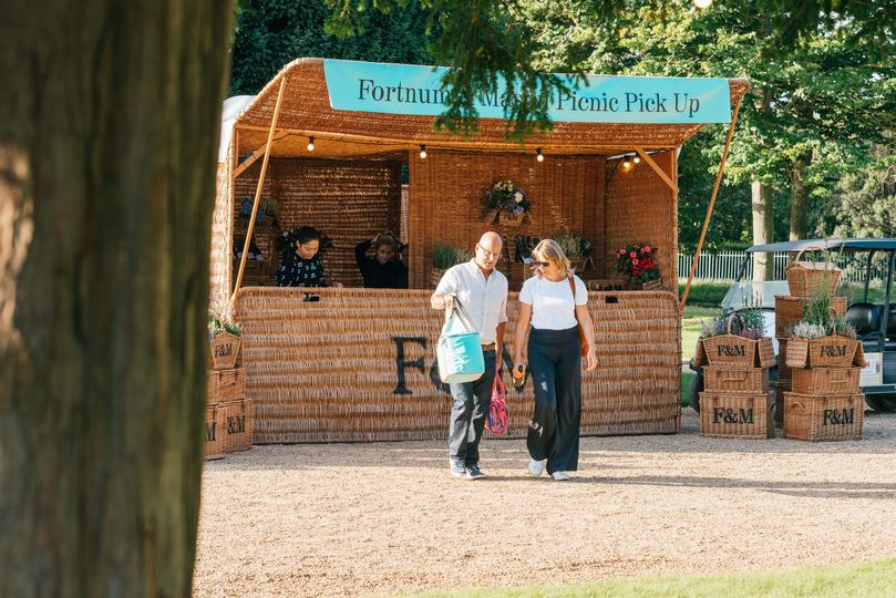 You can pre-order a Fortnum & Mason picnic up to 72 hours before the perform...