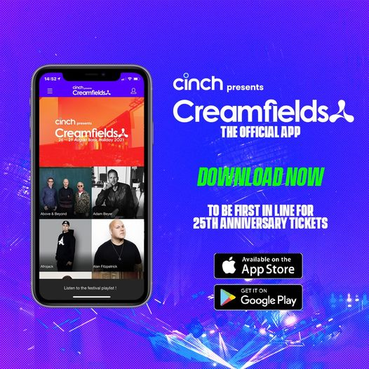 Download the official cinch presents Creamfields app now and receive up to date ...