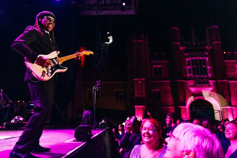 Who joined us at the Palace in August for the legendary Nile Rodgers & Chic?...