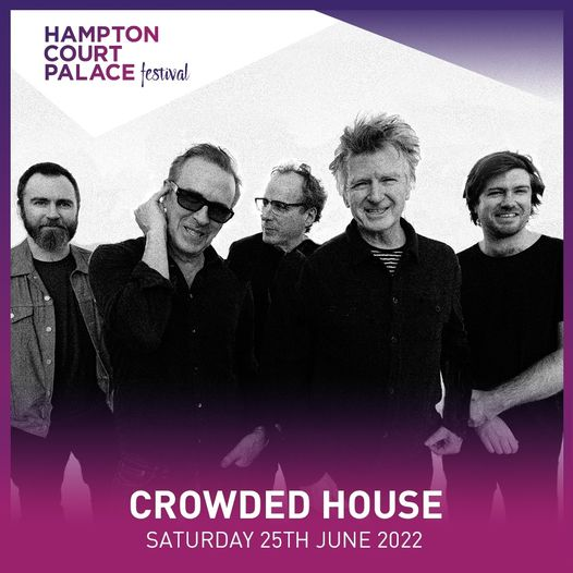 We are so excited to announce that Crowded House have just been added to our 202...