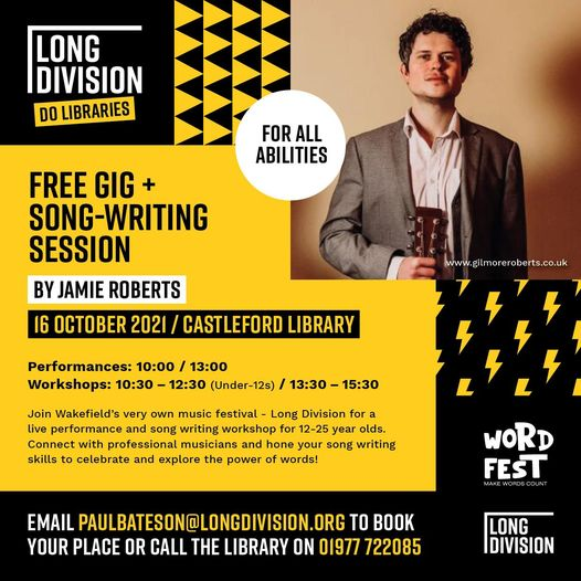 Next up in our 'Long Division Do Libraries' series, and it's the amazing Jamie R...
