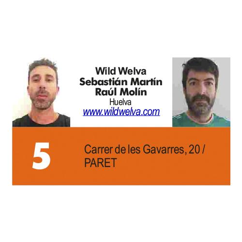 Wild Welva Sebastián Martín, Raúl Molín
