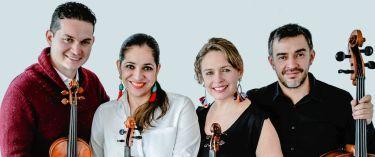 """40. Cuarteto Q-Arte, Colombia - Concierto didáctico """"Una mirada a Schubert"""""""