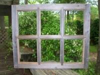 8x10 Barnwood Window Pane Picture Frame - 6 Pane | Bill ...