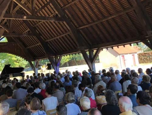 NOHANT FESTIVAL CHOPIN HORS LES MURS2018 SUPERBE CADENCE FINALE A SAINT-AOÛT