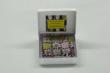 Coasters made from genuine vintage fabric