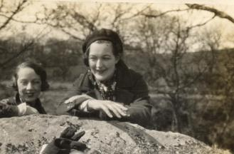 Dorn with Madge Garland