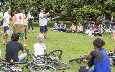 """Diario La Nación: """"Shakespeare, en teatro y en bicicleta"""""""