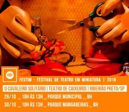 O CAVALEIRO SOLITÁRIO - VIAJANTES | Teatro de Caixeiros | Ribeirão Preto / SP
