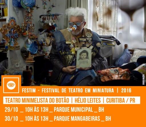 TEATRO MINIMELISTA DO BOTÃO - TEMBO | Hélio Leites | Curitiba / PR