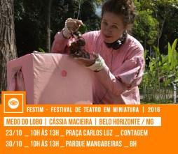 MEDO DO LOBO | Cássia Macieira | Belo Horizonte / MG