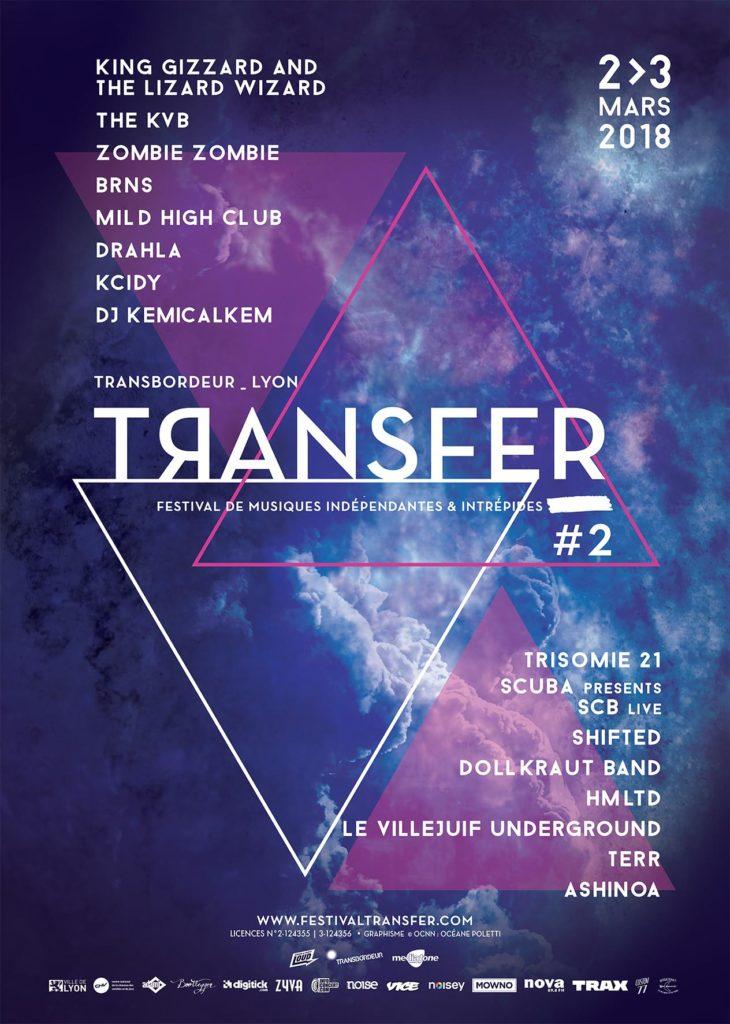 programmation festival transfer 2018
