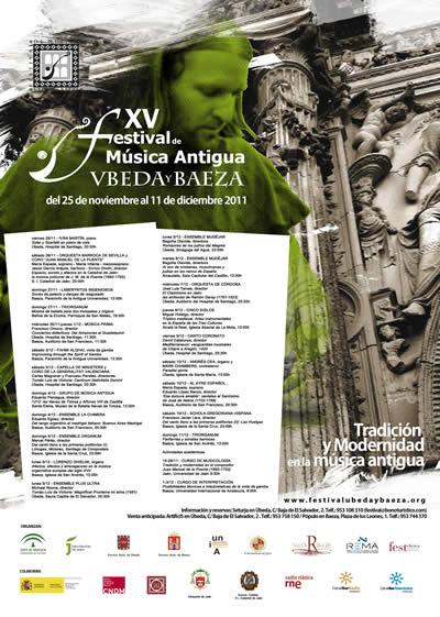 Cartel XV FeMAUB 2011