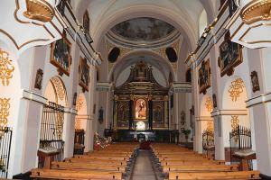 Acaudete. Iglesia del Carmen