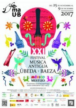 CARTEL XXI Festival de Música Antigua Úbeda y Baeza