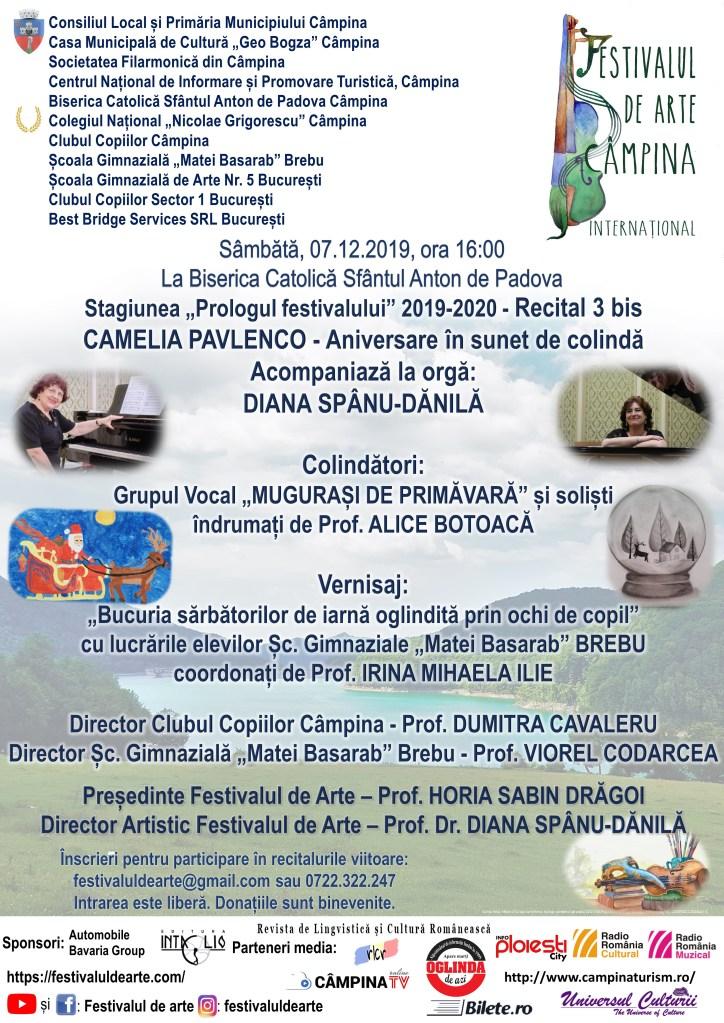 Afiș Prologul festivalului - Recitalului 3 bis