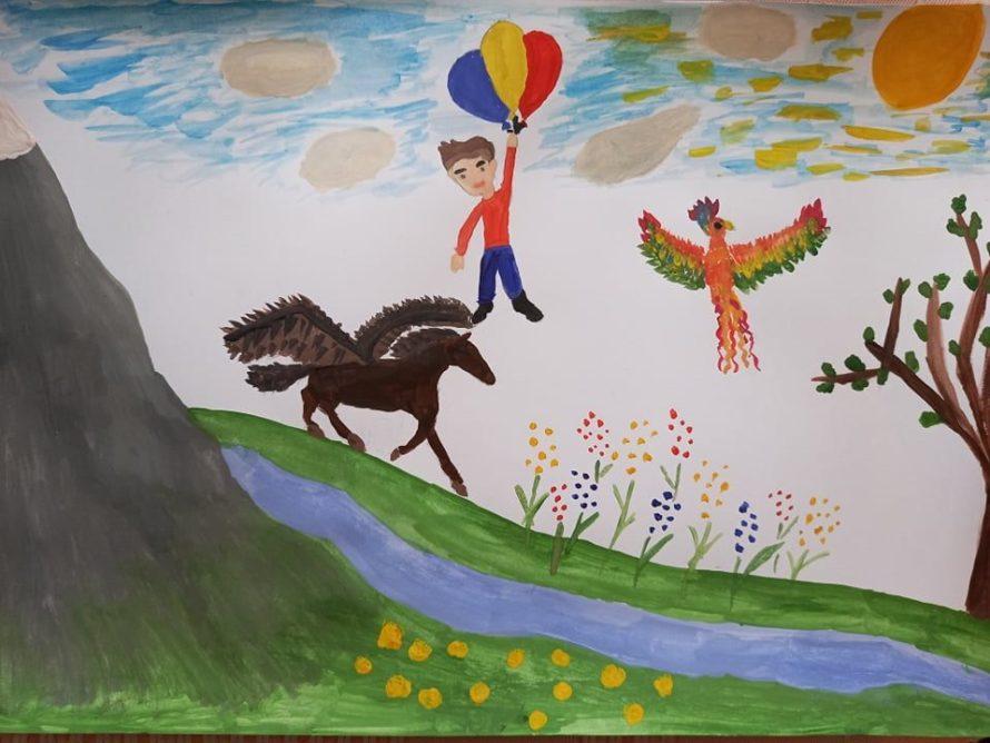 Călătorie cu Tricolorul Zburător în Mână spre Mitologia Română