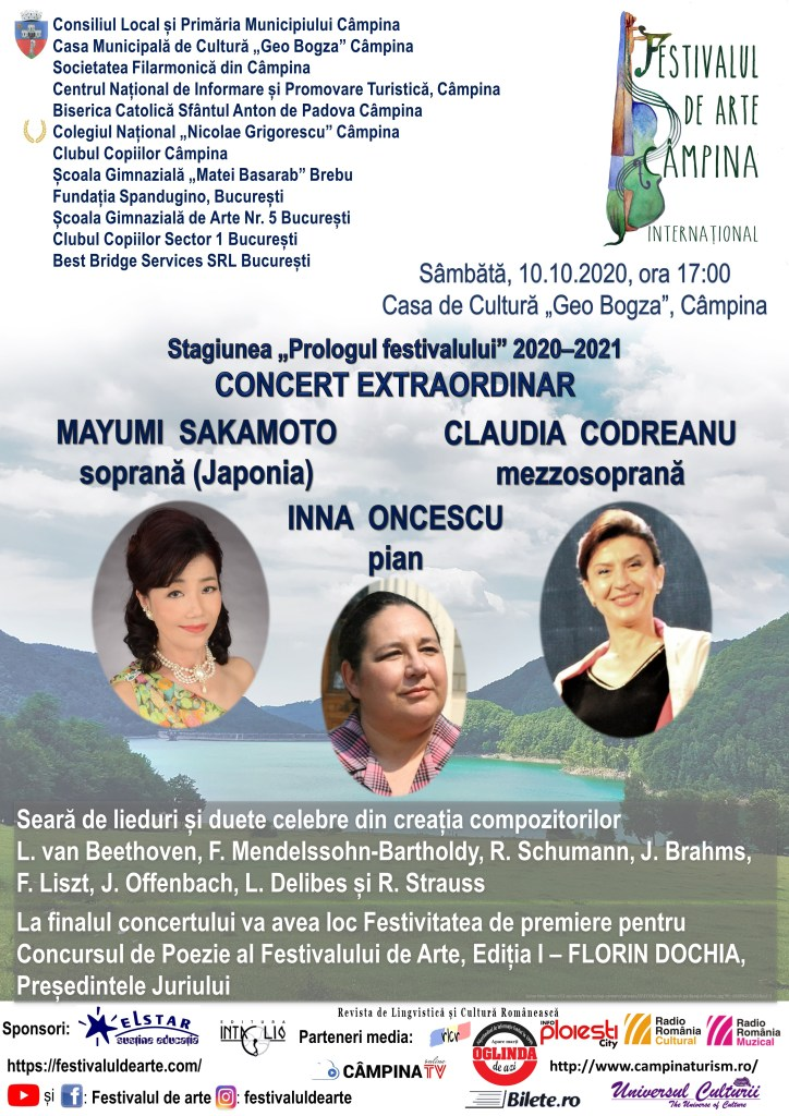 """Concert Extraordinar la Casa de Cultură """"Geo Bogza"""" în deschiderea stagiunii """"Prologul festivalului"""""""