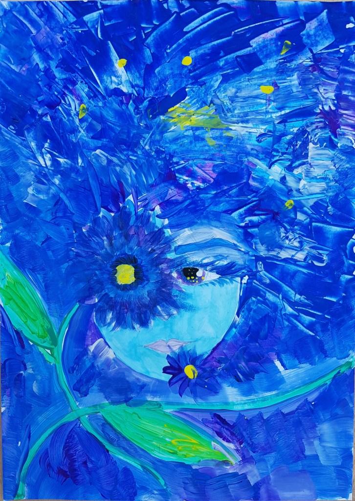 """""""Floare albastră"""" - călătorie în lumea poeziei lui Eminescu"""