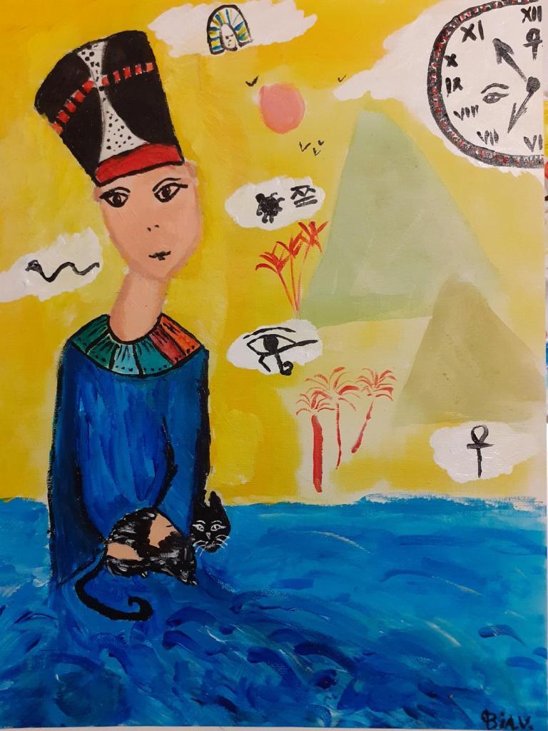 Călător în Timp - Întâlnire cu Zeița Nefertiti