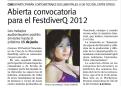 Últimas Noticias. 06/02/2012. Página 38.