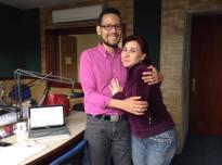 Con Marycarmen Sobrino en Melodía Stereo