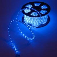 Outdoor Blue Rope Lights