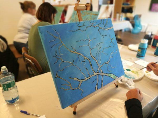 van gogh mandulavirágzás festés
