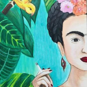 Frida a vadonban