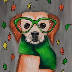 Kutyus ősszel