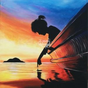 Egy csónakban - nő