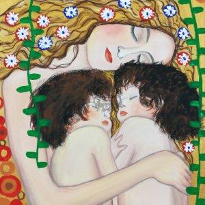 Anya gyermekeivel otthoni élményfestő szett