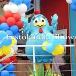 personagem pra festa infantil galinha pintadinha Galinha Pintadinha