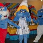 Personagem para festa infantil smurfs