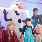 personagem para festa infantil frozen