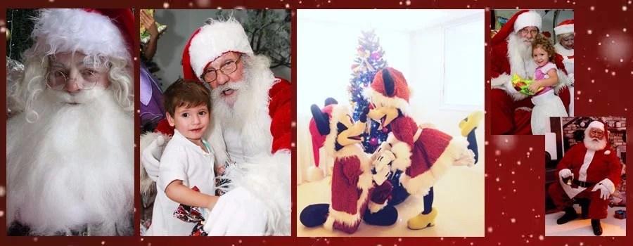 Papai Noel Mamãe Noel e Duendes