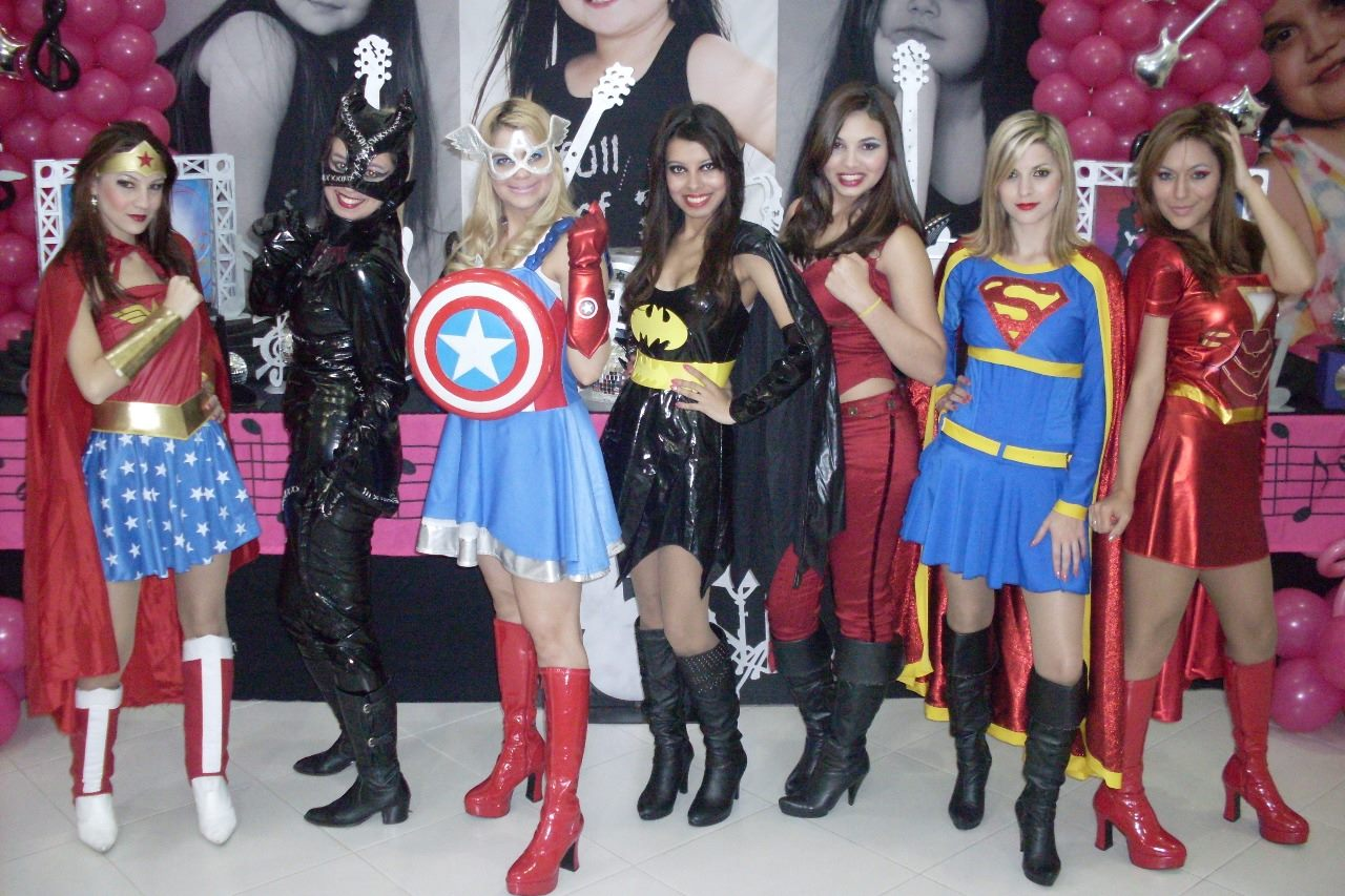 Super Hero Girls Heroínas