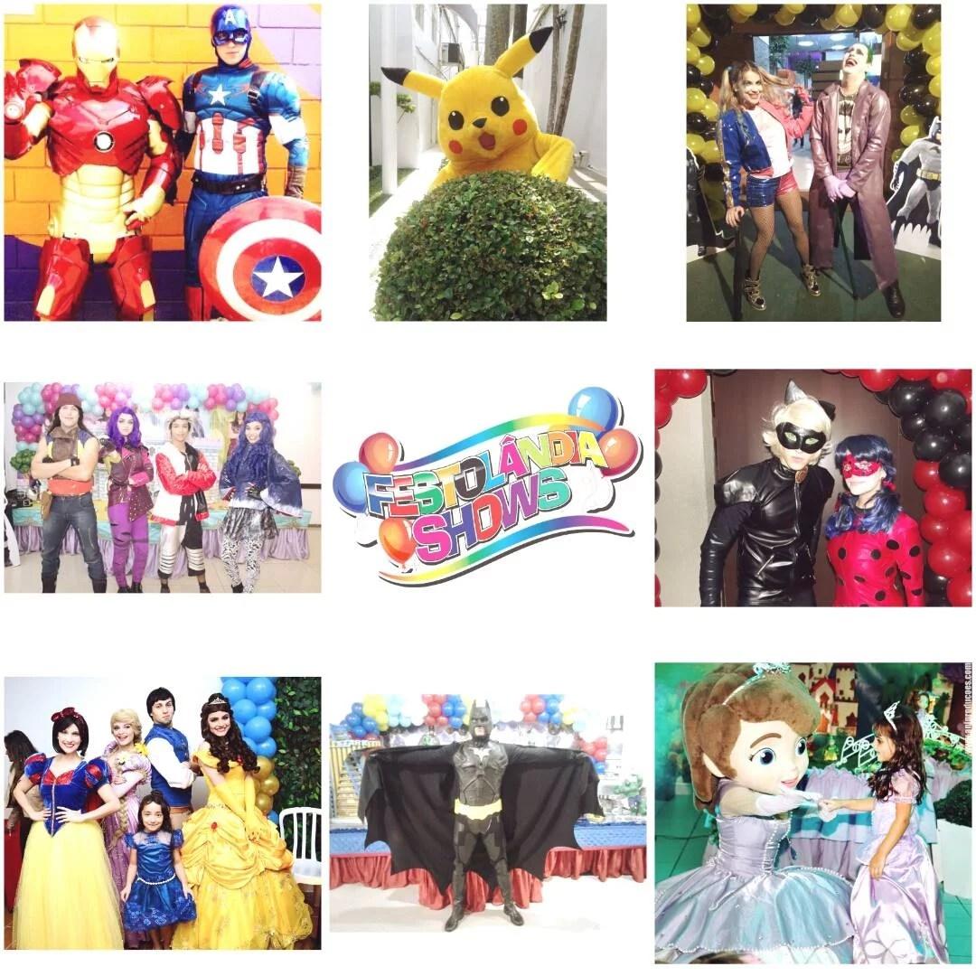 Festolandia Shows + personagens e shows para festas e eventos infantis
