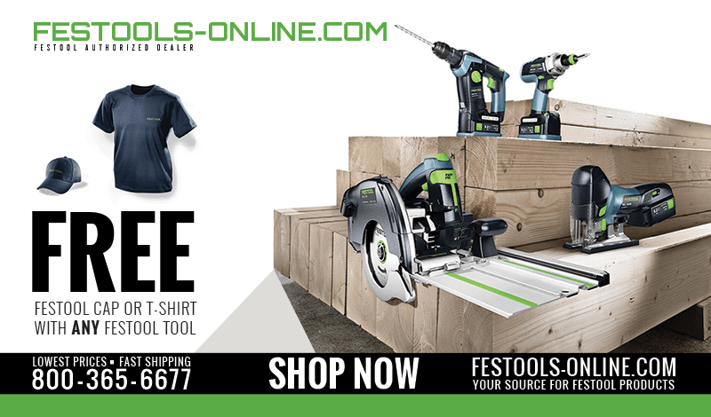 Festool Reconditioned Sale
